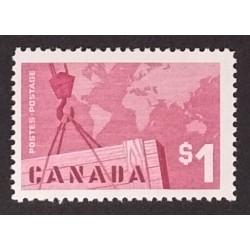 Canada 411i Plate Block UR Plate No. 1 VF MNH