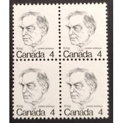 Canada 589T1 Block Untagged Error VF MNH