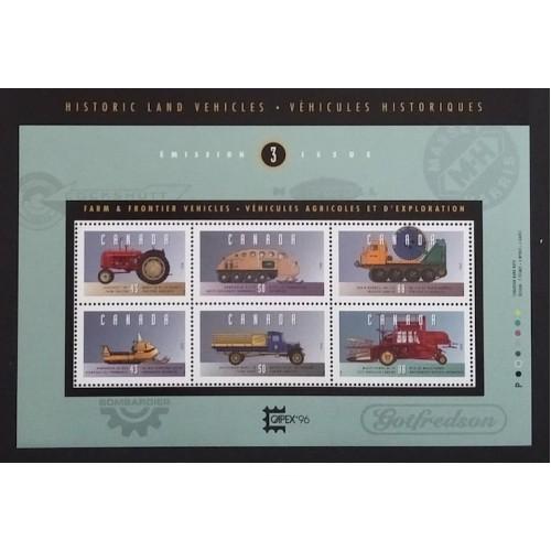 Canada 1552 Souvenir Sheet VF MNH