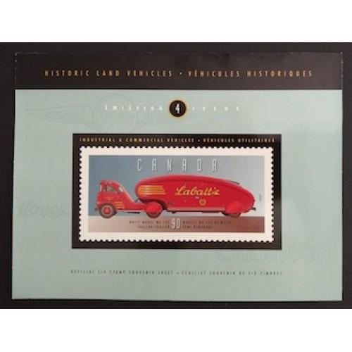 Canada 1604 Souvenir Sheet in Folder VF MNH