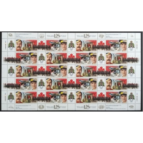 Canada 1737a Full Sheet Pane VF MNH