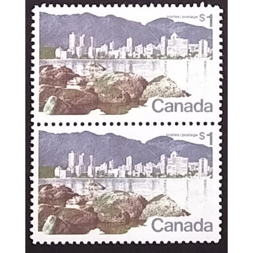 Canada 600|600ii Pair with Variety VF MNH