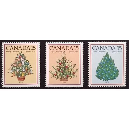 Canada 900i-2i Complete Set VF MNH