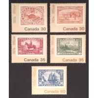 Canada 909-13 Complete Set VF MNH
