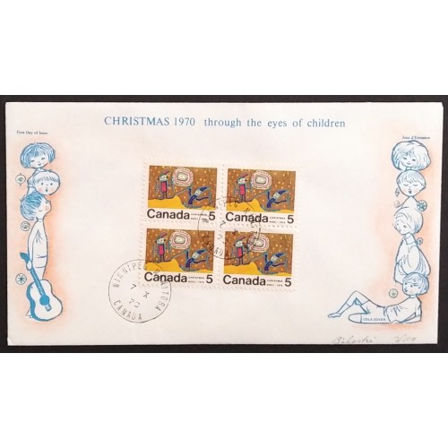 Canada 522pi First Day Cover Centre Block