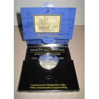 Canada 1999 225th Anniversary of the Voyage of Juan Perez Dollar