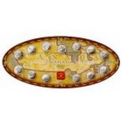Canada 1999 Millennium 25 cents uncirculated set