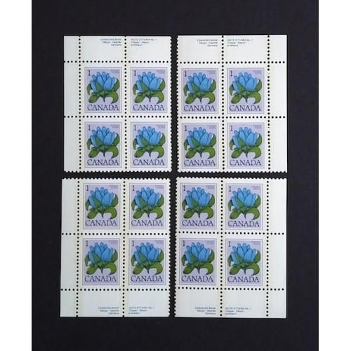 Canada 705 Plate Block No. 1 VF MNH (Choose a Corner)