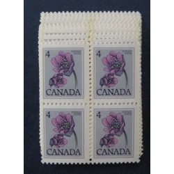 Canada 709 Block Lot of 25 VF MNH