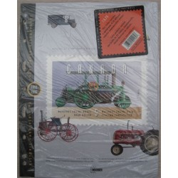 Canada TC72 Historic Land Vehicles - Pane of 25