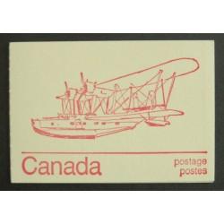 Canada BK74a (BK74p) Booklet - Stranraer w/ Variety 593xv