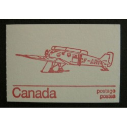 Canada BK74a (BK74n) Booklet - Junkers w/ Variety 593xv