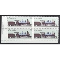 Canada 1038 Plate Block LL with Variety VF MNH
