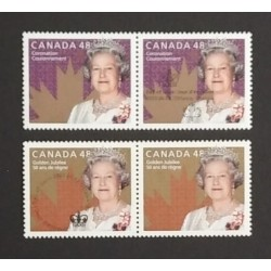 Canada 1932|1987 Pairs with Day of Issue Cancel VF NH