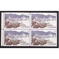 Canada 600|600ii|600iv Block with Varieties VF MNH