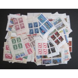 Canada L8141 Lot of 115 Diff. Plate Blocks (C) Cat. $300 VF MNH