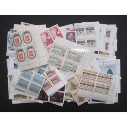 Canada L8142 Lot of 115 Diff. Plate Blocks (D) Cat. $300 VF MNH