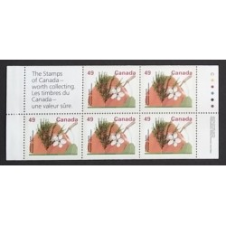 Canada 1364ab Booklet Pane VF MNH