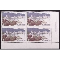 Canada 600 Plate Block LR Plate No. 1 VF MNH