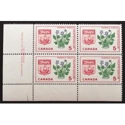 Canada 421i Plate Block LL Plate No. 1 VF MNH