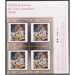 Canada 1754 Plate Block UR VF MNH